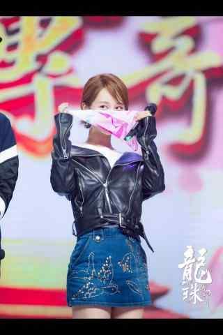 龙珠传奇发布会杨紫可爱图片