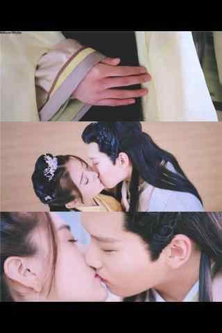 双世宠妃坦诚夫妇接吻剧照