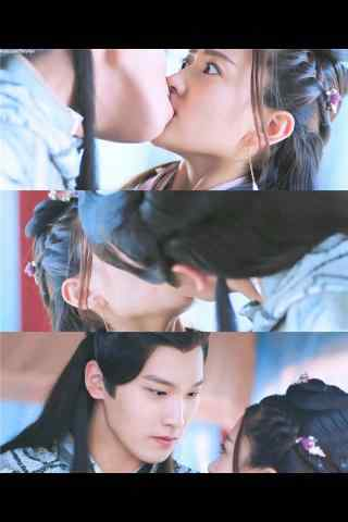 双世宠妃坦诚夫妇接吻手机壁纸