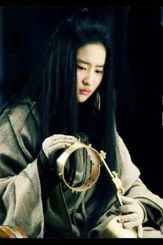四大名捕无情刘亦菲手机壁纸