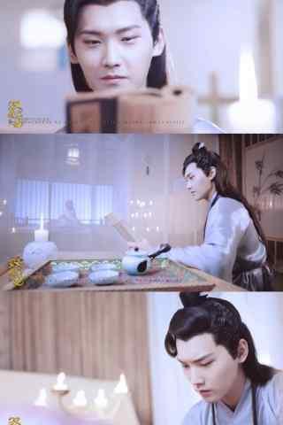 双世宠妃墨连城认真看书剧照