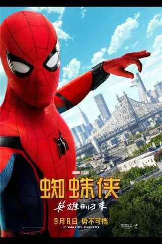电影蜘蛛侠英雄归来手机壁纸