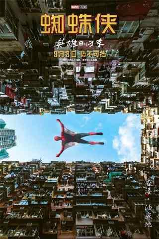 电影蜘蛛侠英雄归来手机海报