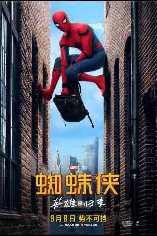 蜘蛛侠英雄归来手机图片
