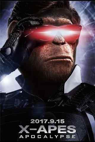 猩球崛起3终极之战凯撒手机海报