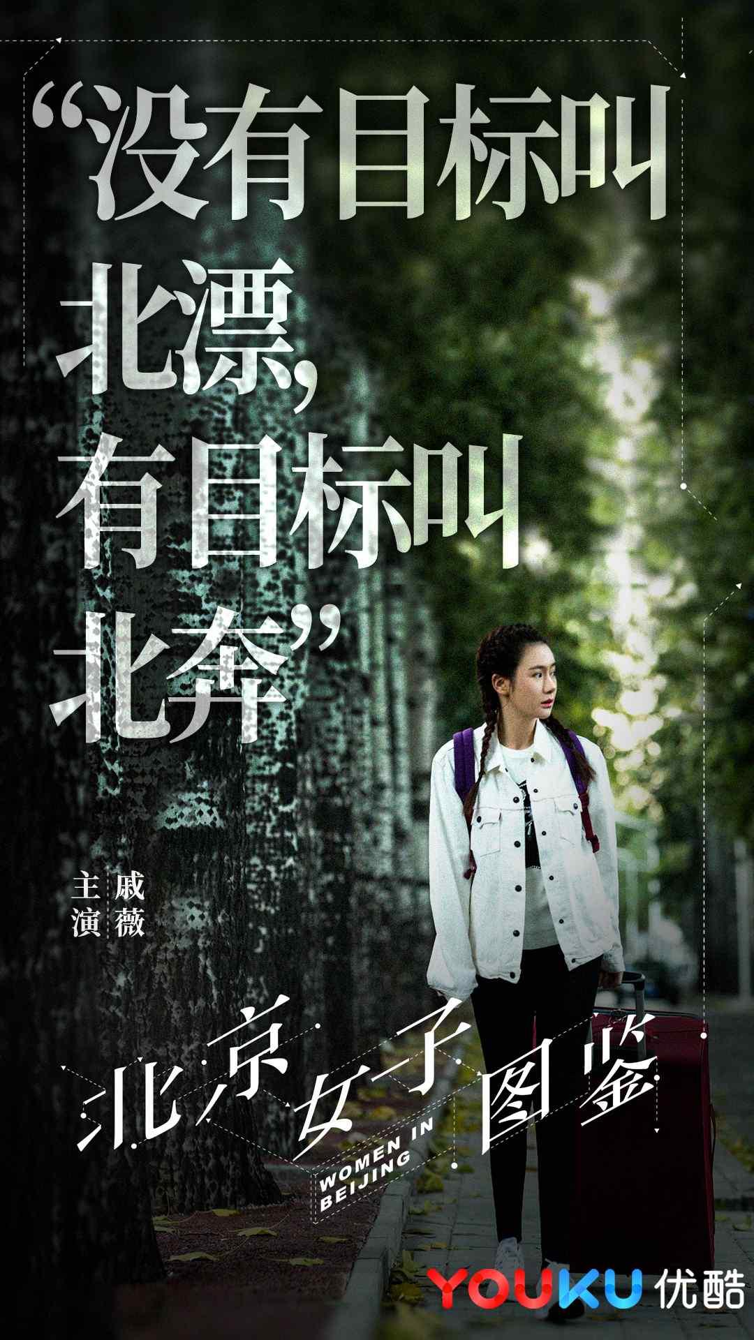 北京女子图鉴正式版角色海报