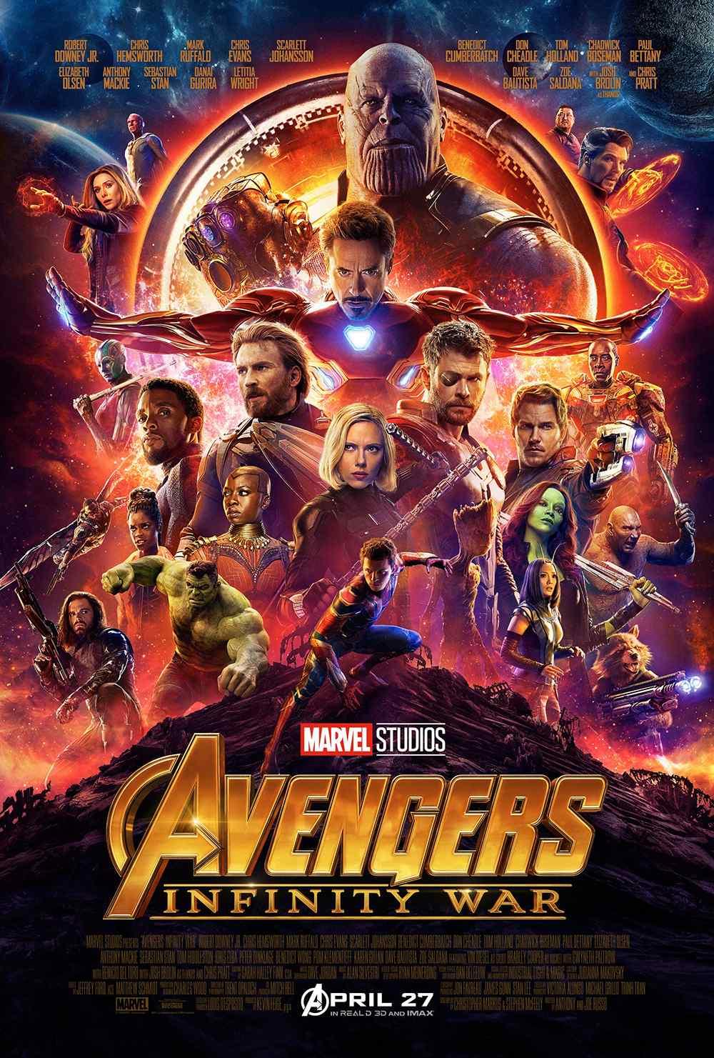 《复仇者联盟3:无限战争》高清海报图片