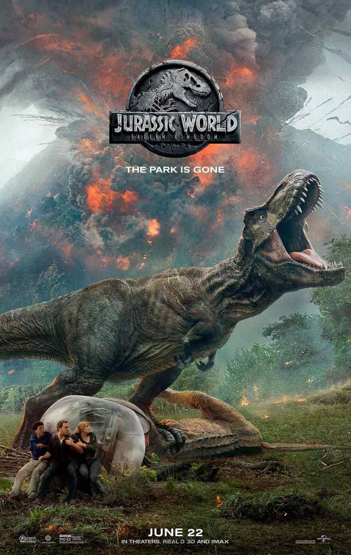 侏罗纪世界2经典美国版正式海报
