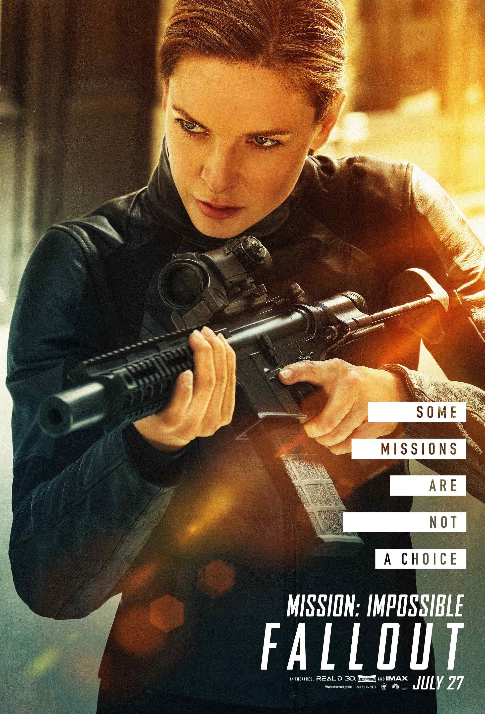 碟中谍6:全面瓦解丽贝卡弗格森性感高清个人角色海报