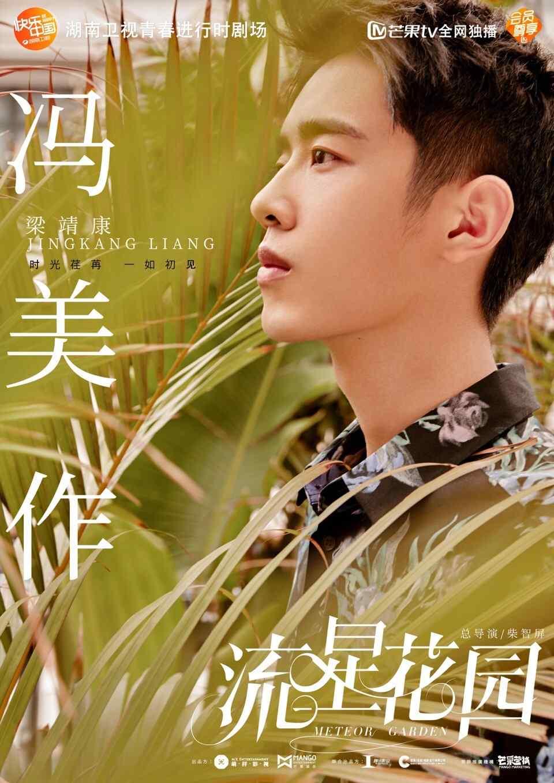 新版《流星花园》梁靖康饰冯美作个人海报图片