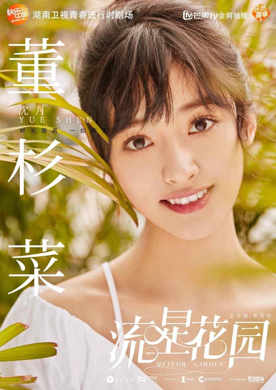 新版《流星花园》沈月饰董杉菜个人海报
