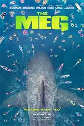 《巨齿鲨》正式版美国海报图片