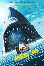 《巨齿鲨》Q版预告海报