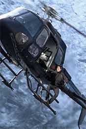 《碟中谍6:全面瓦解》阿汤哥直升机打斗精彩高清剧照图片