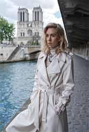 《碟中谍6:全面瓦解》丽贝卡一身白衣高清唯美剧照图片