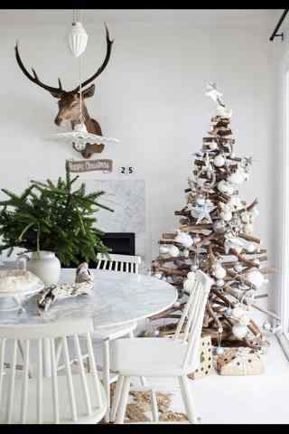 创意圣诞树图片手机壁纸