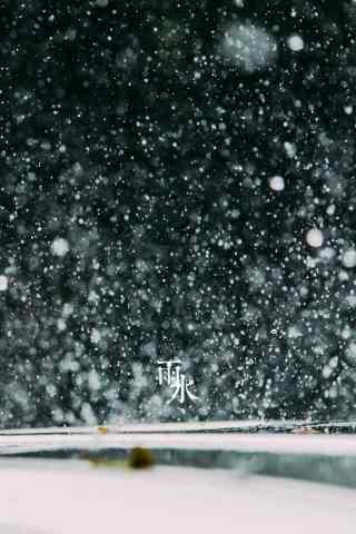 雨水节气-唯美春