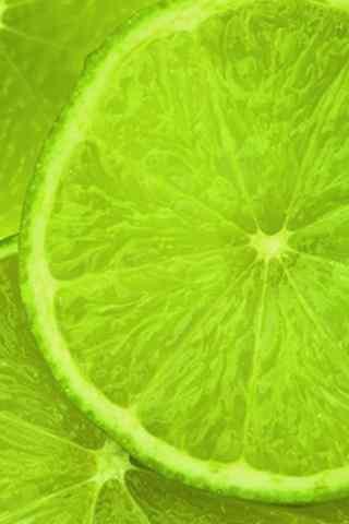清新绿色柠檬手机