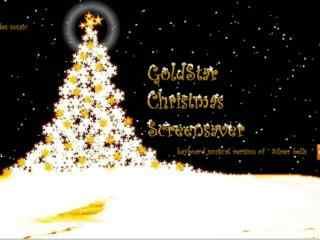 圣诞时钟屏保 -candles