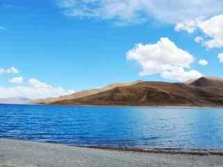 西藏三大圣湖羊卓雍措风景动态屏保