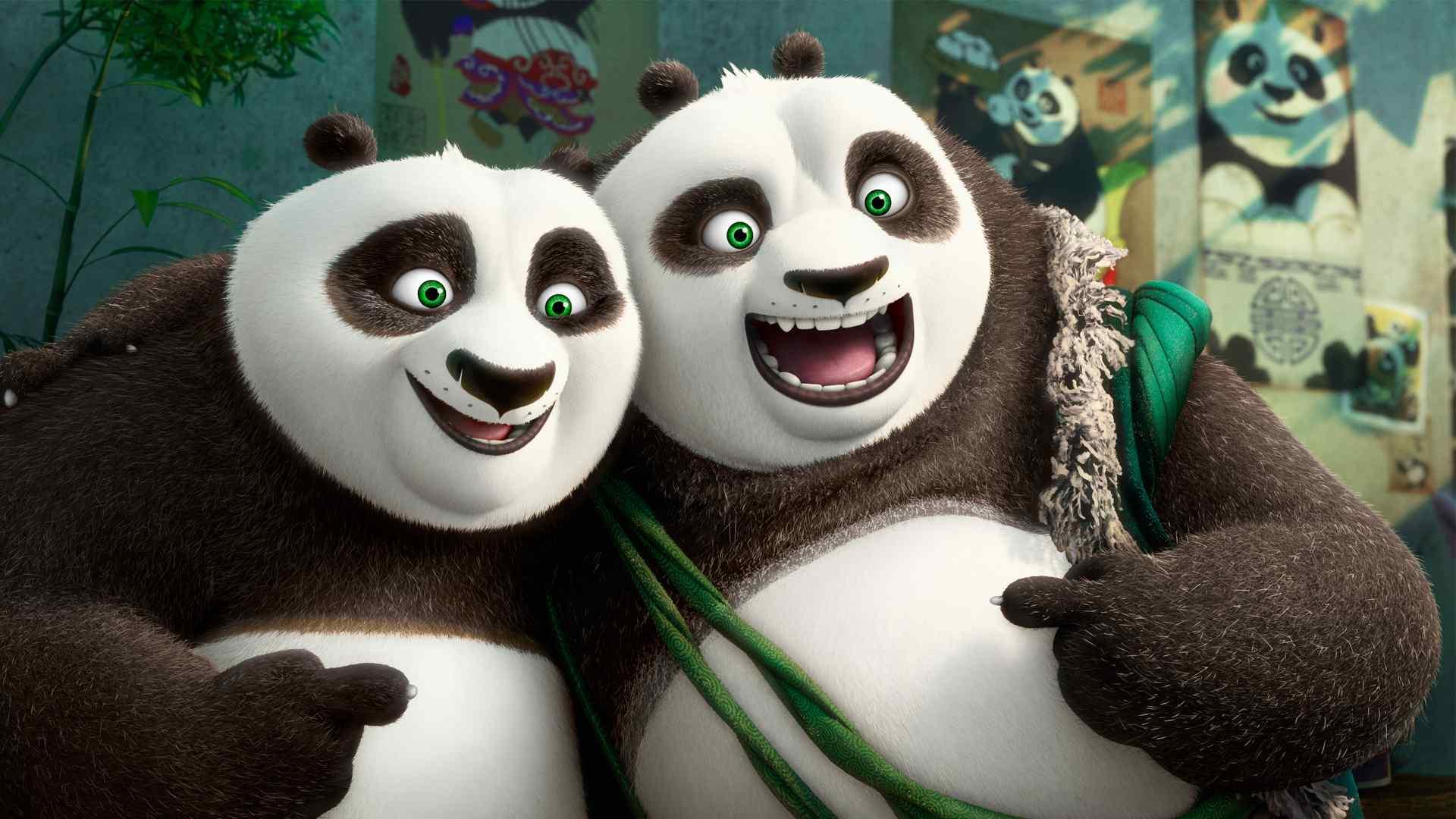 3d动画功夫熊猫桌面壁纸