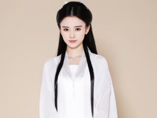 鞠婧祎小龙女长纱