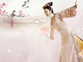 醉玲珑刘诗诗最新唯美古装桌面壁纸 第