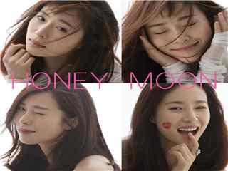 江一燕专辑Honey Moon桌面壁纸