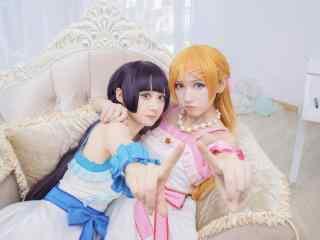 《我的妹妹哪有这么可爱》之cosplay桐乃与琉璃合照图集