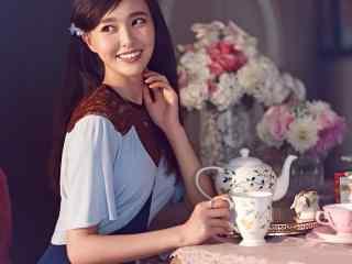 唐嫣优雅复古写真高清桌面壁纸