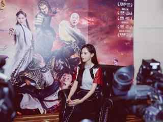 唐嫣携大话西游3时装周宣传高清电脑桌面壁纸