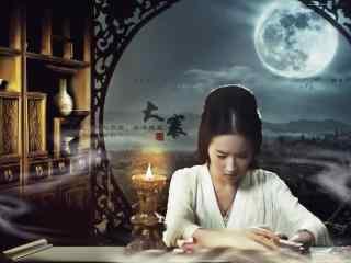 刘亦菲二十四节气大寒节气壁纸