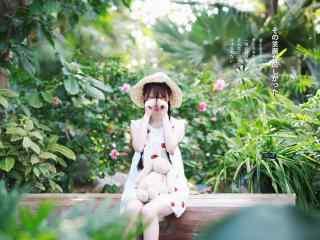 清纯可爱日系美女桌面壁纸