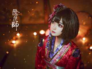 阴阳师神乐cosplay美女壁纸