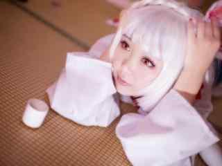 阴阳师式神山兔可爱cosplay壁纸