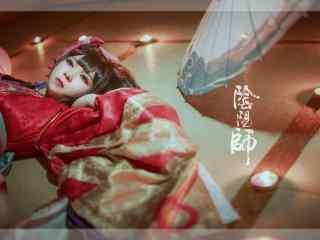 阴阳师cosplay神乐桌面壁纸
