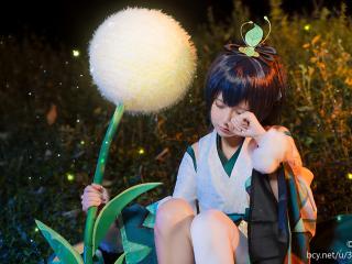 阴阳师式神cosplay之可爱的萤草
