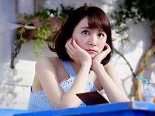 日本美女新垣结衣大眼可爱美丽的图片桌