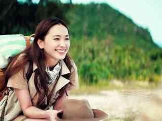 日本美女新垣结衣可爱笑容图片桌面壁纸