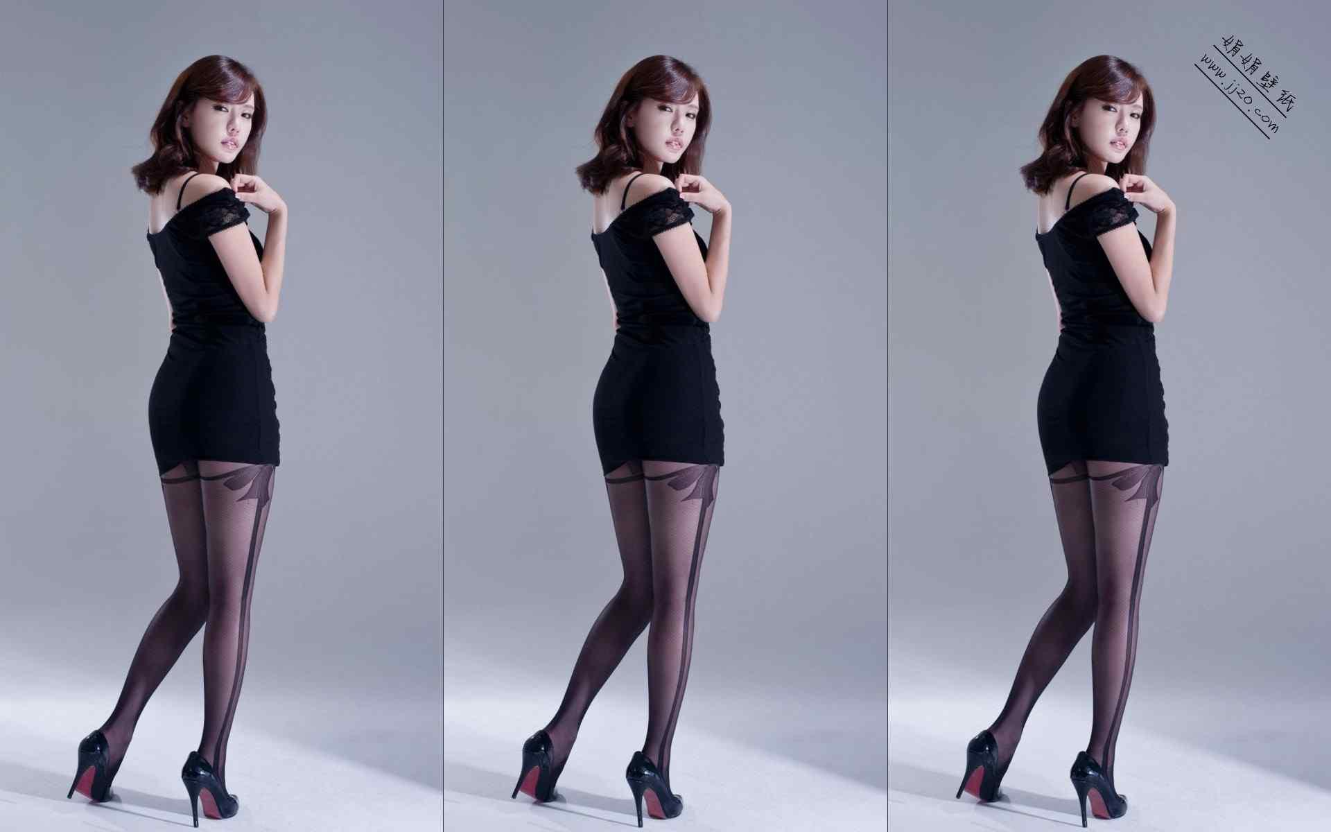 韩国壁纸桌面_韩国美女性感写真高清电脑桌面壁纸 -桌面天下(Desktx.com)