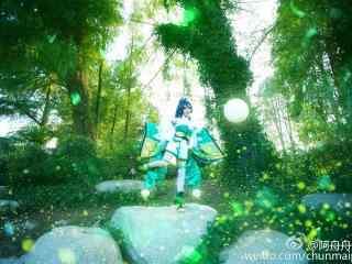 阴阳师可爱的萤草cosplay图片壁纸