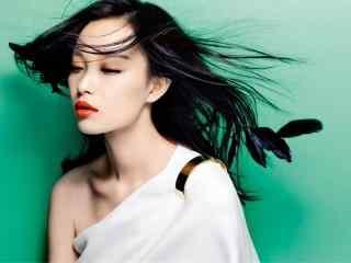 倪妮时尚唯美高清图片桌面壁纸