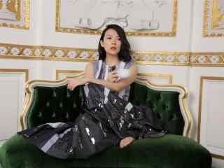 章子怡时尚造型简约图片桌面壁纸