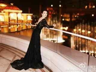 章子怡时尚长裙造型高清图片桌面壁纸