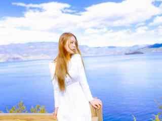 大理洱海唯美女孩