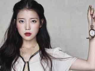 韩国美女明星iu李