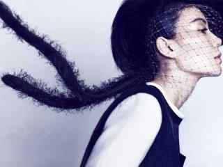 王菲时尚个性写真图片高清桌面壁纸