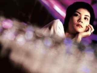 王菲个性短发唯美电影剧照桌面壁纸