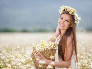 气质欧美美女图片桌面壁纸
