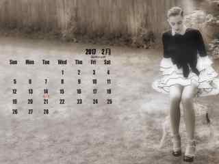 2017年2月日历之
